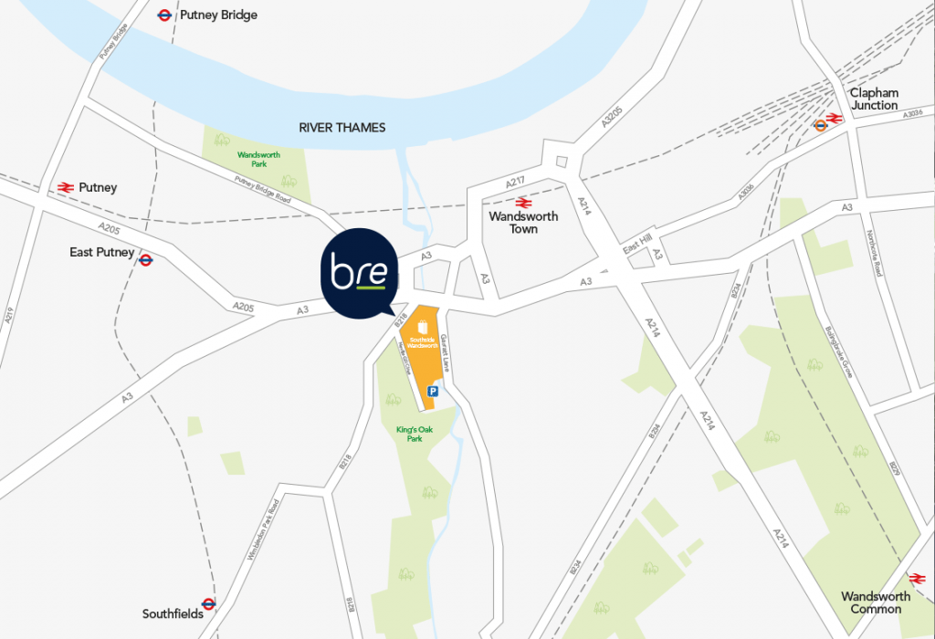 Brand Reaction Location Map